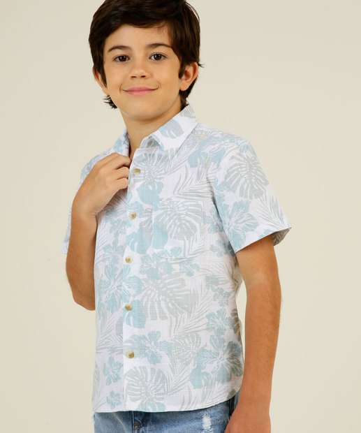 Image_Camisa Infantil Estampa Tropical MR Tam 4 a 10
