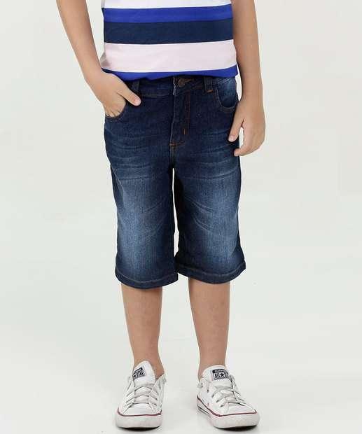 Image_Bermuda Infantil Jeans Bolsos Mr