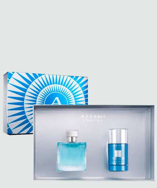 Image_Kit Masculino Perfume e Desodorante Chrome Azzaro - Eau de Toilette