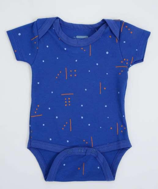 Image_Body Infantil Bebê Estampado Tam 0 a 6 Meses