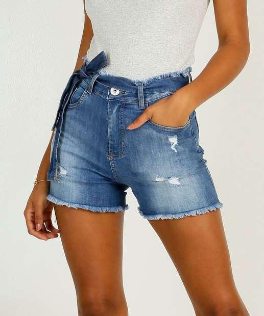 Image_Short Jeans Destroyed Feminino Clochard Sawary