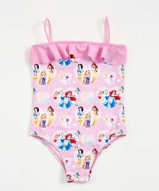Image_ Maiô Infantil Estampa Princesas Disney