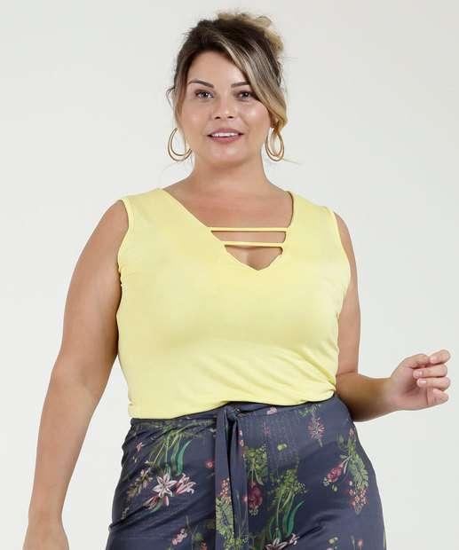 Image_Regata Feminina Plus Size Strappy Chópp