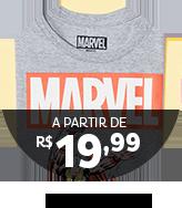 Camisetas à partir de R$19,99