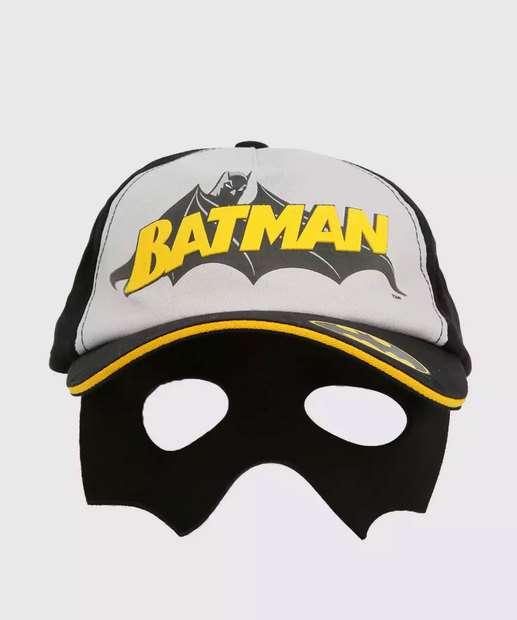 Image_Boné Infantil Máscara Estampa Batman Liga da Justiça