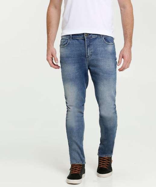 Image_Calça Masculina Skinny Jeans Bolsos MR