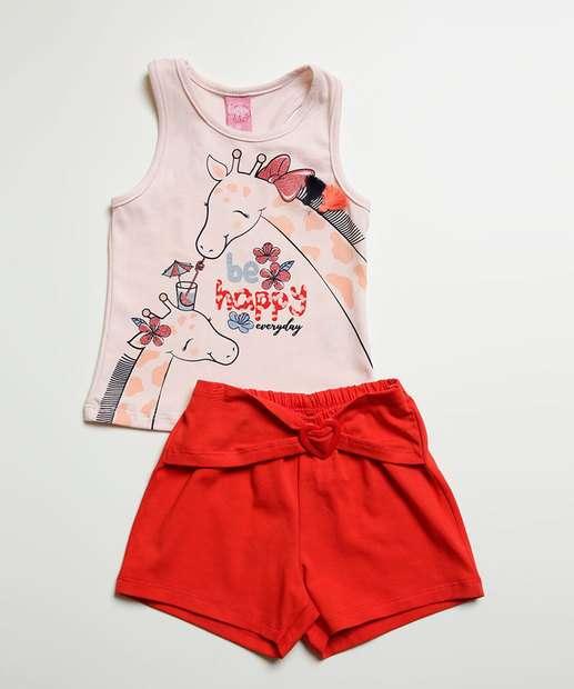 Image_Conjunto Infantil Estampa Girafa Manga Curta