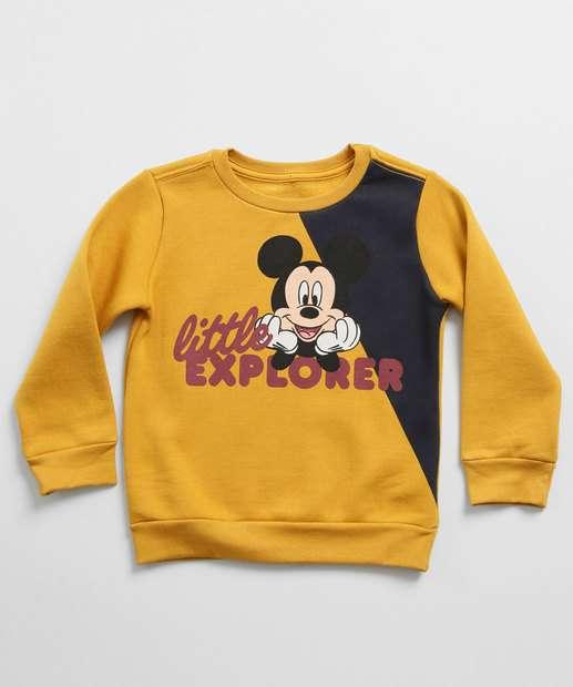 Image_Blusão Infantil Moletom Mickey Manga Longa Disney