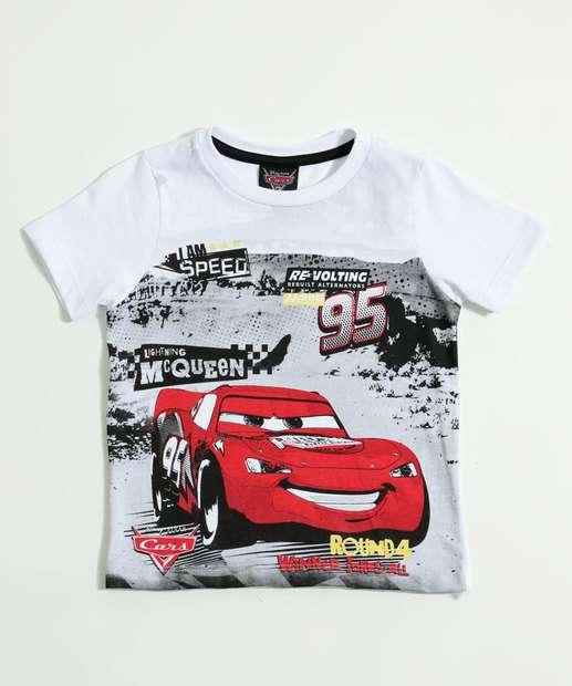 Image_Camiseta Infantil Estampa McQueen Carros Disney
