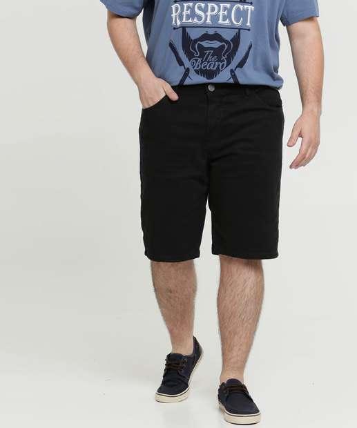 Image_Bermuda Masculina Sarja Bolsos Plus Size Razon