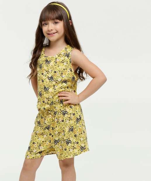 Image_Macaquinho Infantil Estampa Floral Sem Manga Marisa