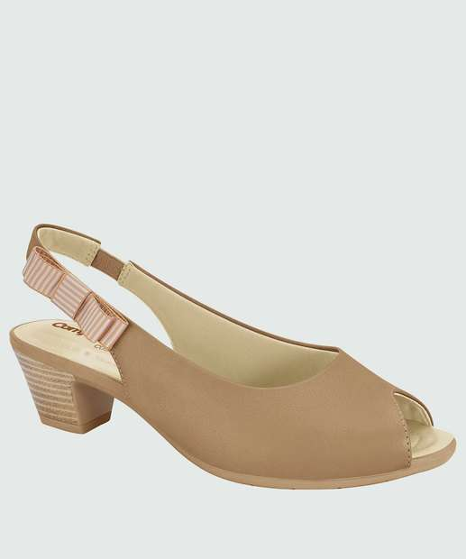 Image_Peep Toe Feminino Chanel Laço Comfortflex 1887406