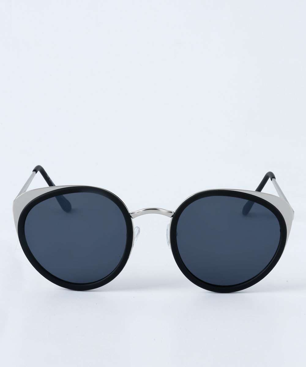 9e43c03d857ff Óculos Feminino de Sol Redondo Espelhado Marisa