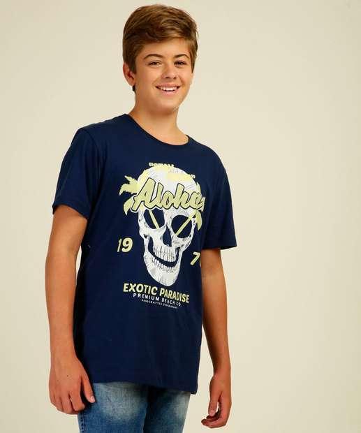Image_Camiseta Juvenil Estampa Frontal Costa Rica Tam 10 a 16