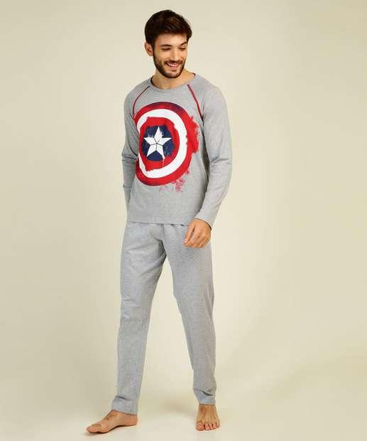 Image_Pijama Masculino Estampa Capitão América Marvel