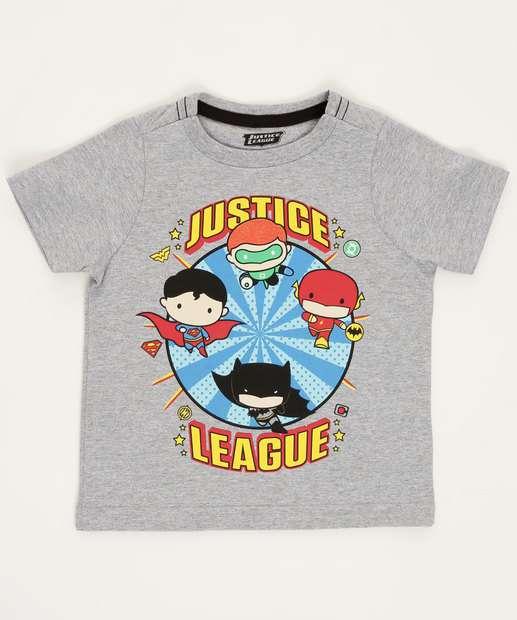 Image_Camiseta Infantil Estampa Frontal Liga Da Justiça