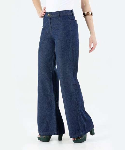 Image_Calça Feminina Jeans Pantalona Marisa