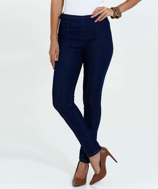 Image_Calça Feminina Skinny Jeans Amarração Marisa