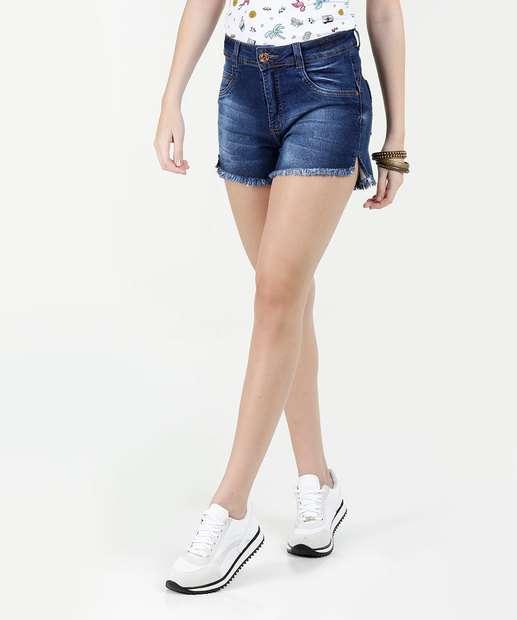 Image_Short Feminino Jeans Cintura Média Biotipo