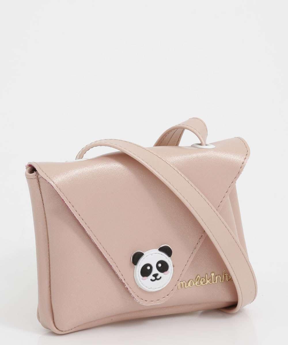 Bolsa Infantil Transversal Panda Molekinha