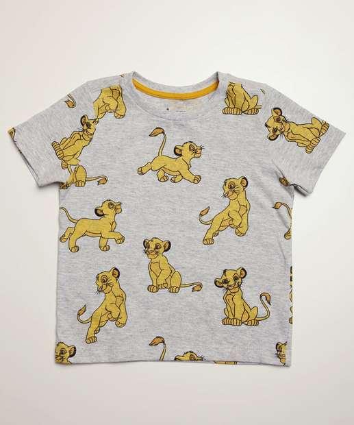 Image_Camiseta Infantil Manga Curta Rei Leão Disney Tam 1 a 4