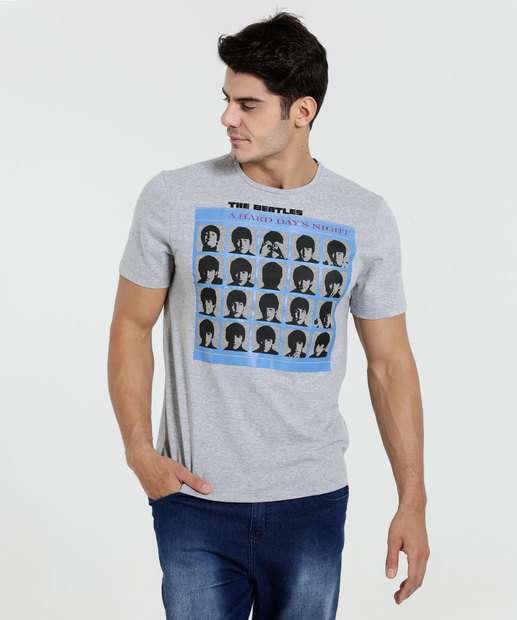 Image_Camiseta Masculina The Beatles Manga Curta Marisa