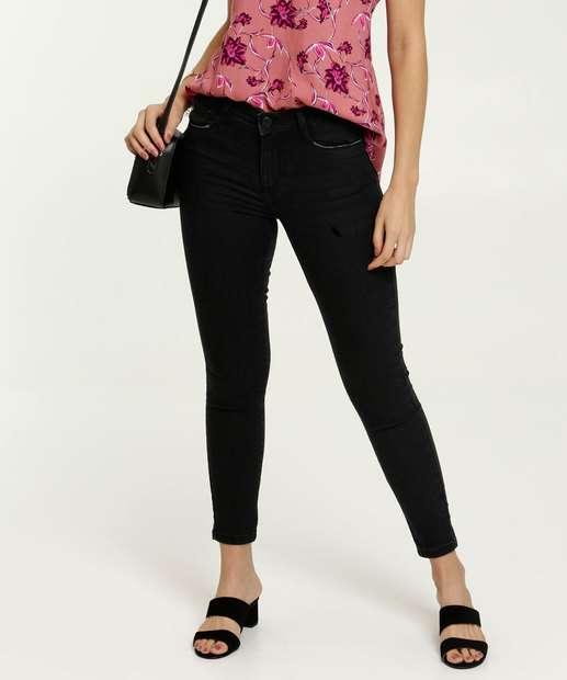 Image_Calça Jeans Skinny Feminina Push Up Marisa
