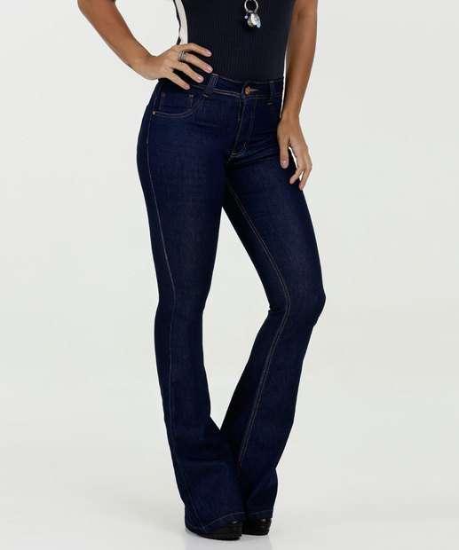Image_Calça Feminina Jeans Flare Cintura Média Biotipo