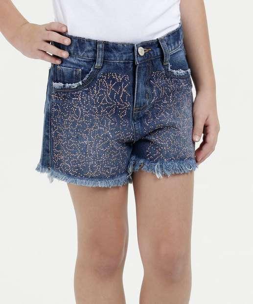 Image_Short Infantil Jeans Strass Marisa