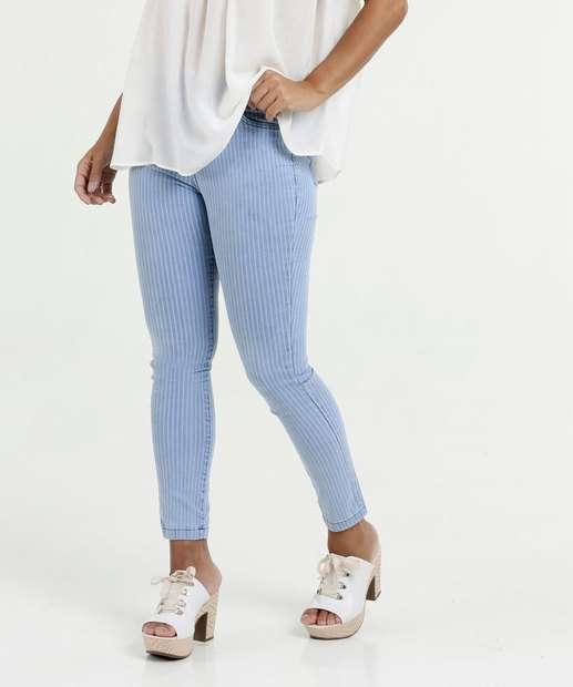 Image_Calça Feminina Jeans Skinny Listrada Marisa