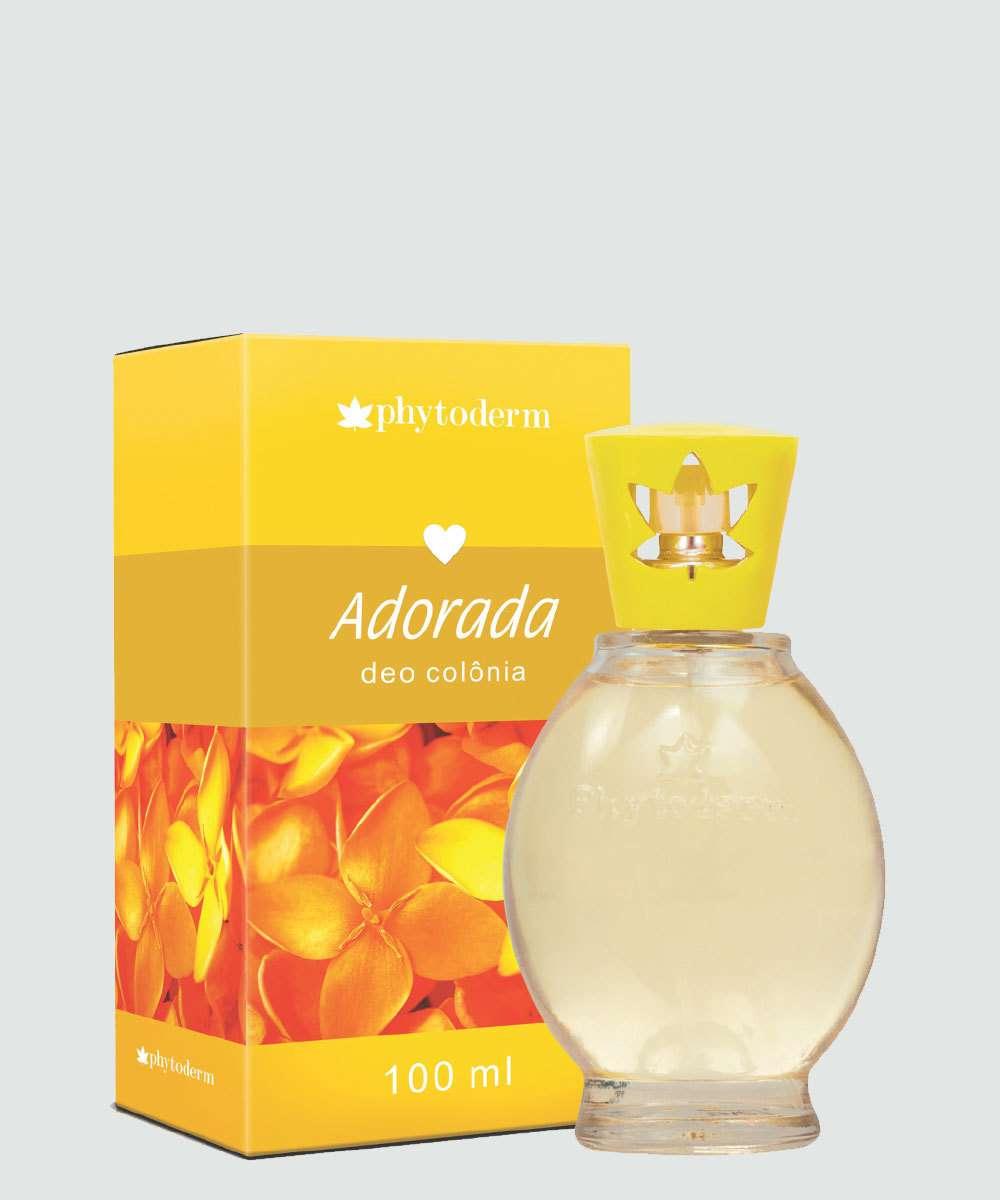 Desodorante Colônia Feminino Adorada Phytoderm 100ml