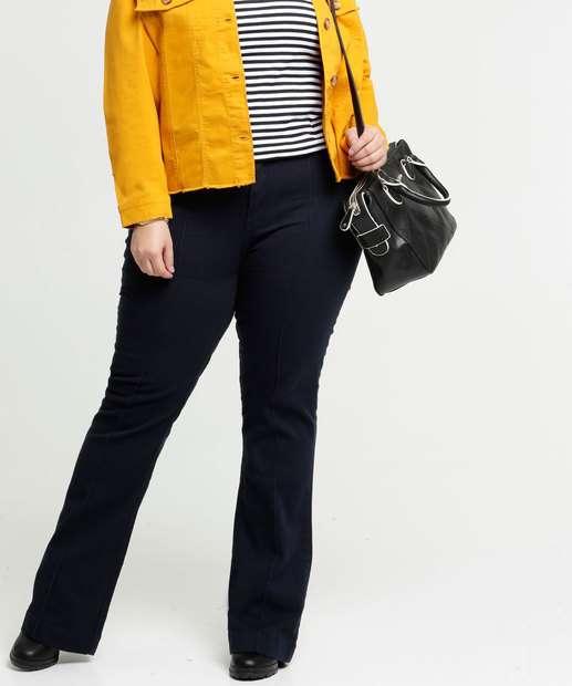 Image_Calça Plus Size Feminina Jeans Boot Cut