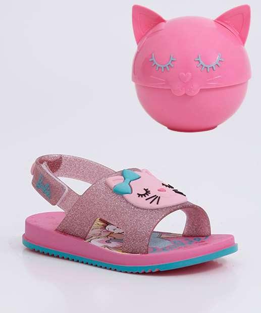 Image_Sandália Infantil Barbie Fashion Cat Grendene Kids