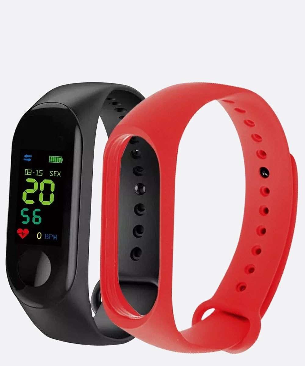 Kit Relógio Smartwatch Unissex Tuguir 11789