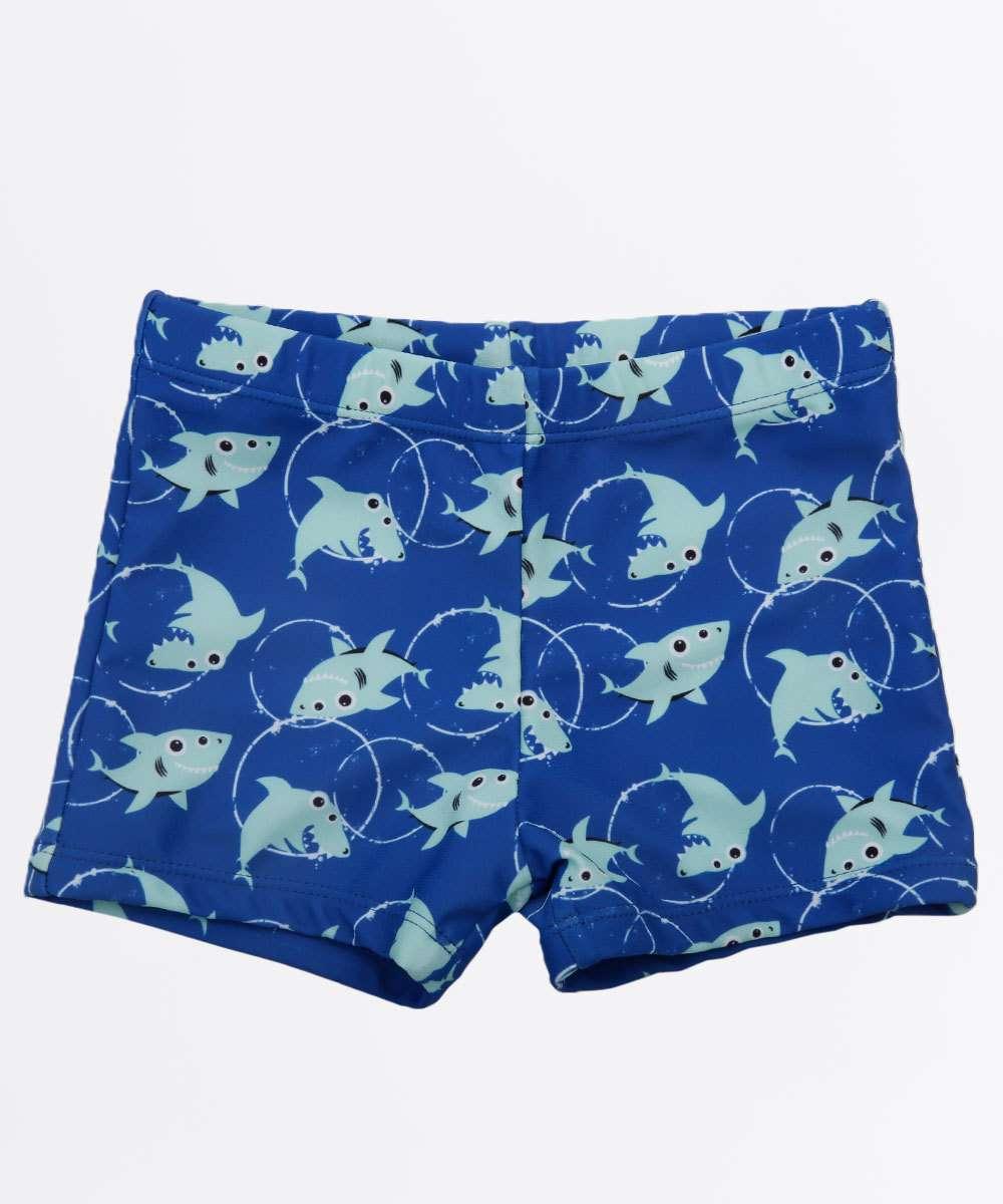 Sunga Infantil Estampa Tubarão Proteção UV Marisa