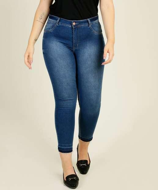 Image_Calça Plus Size Feminina Jeans Cigarrete Biotipo