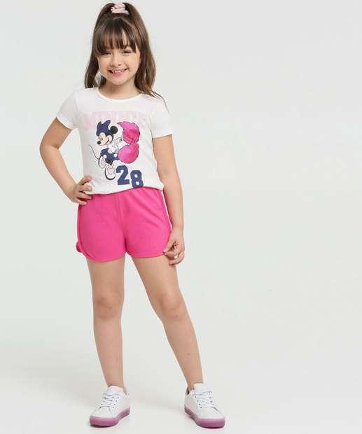 Image_Conjunto Infantil Minnie Manga Curta Disney