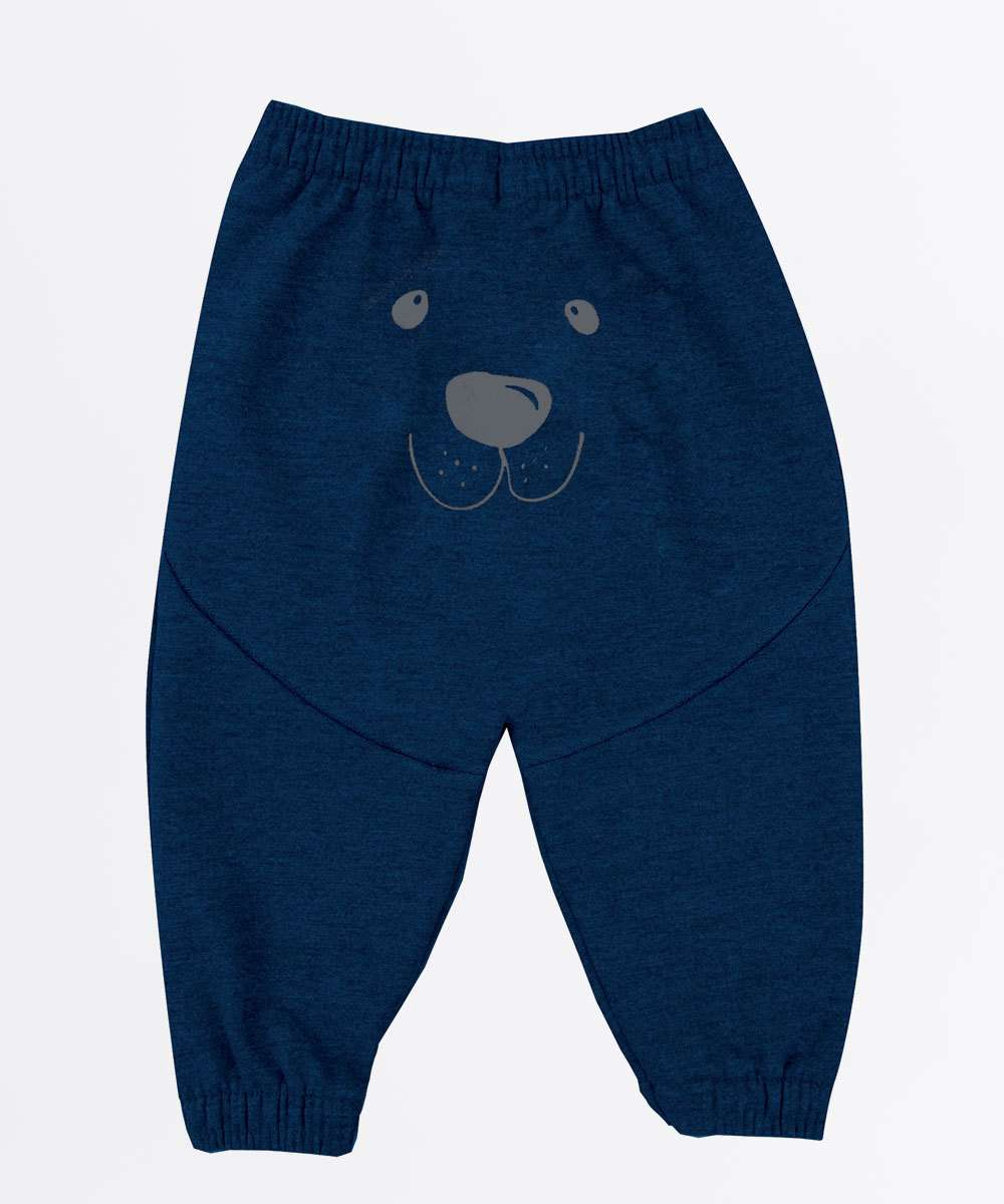Calça Infantil Estampa Urso