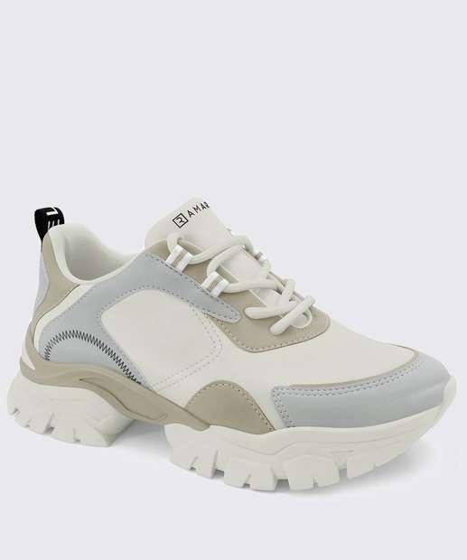Image_Tênis Feminino Chunky Sneaker Recorte Ramarim