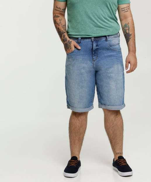 Image_Bermuda Masculina Jeans Bolsos Plus Size Biotipo