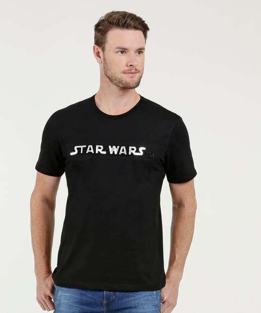 Image_Camiseta Masculina Estampa Star Wars Manga Curta Disney