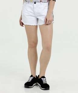 Short Feminino Jeans Listras Marisa