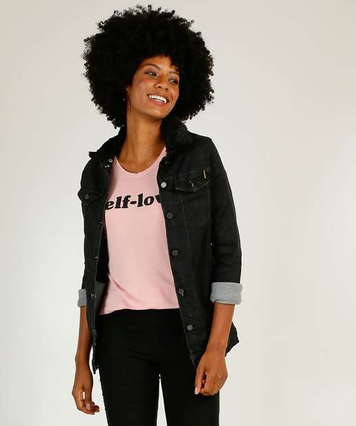 Image_Jaqueta Feminina Sarja Alongada Zune Jeans