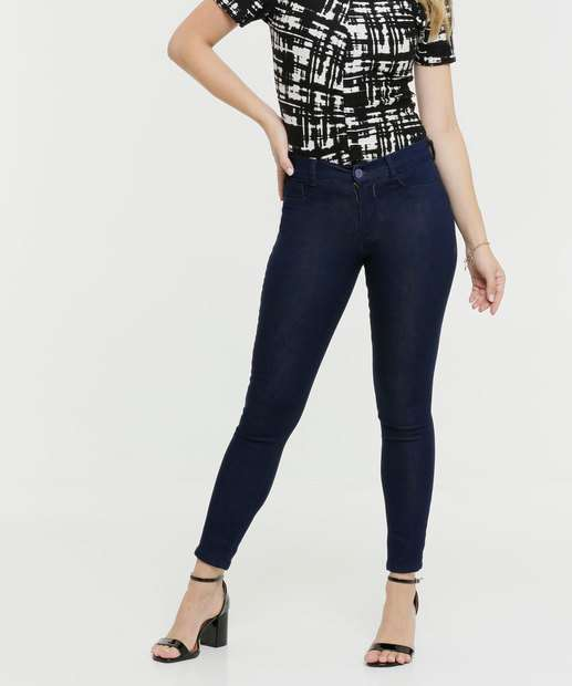Image_Calça Jeans Stretch Skinny Feminina Razon