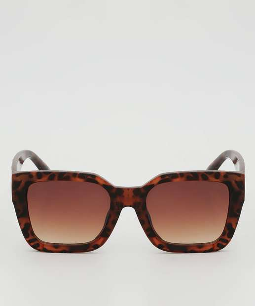 Image_Óculos de Sol Feminino Quadrado Estampado Marisa