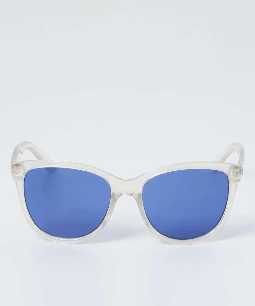 Óculos de Sol Feminino Gateado Transparente Marisa