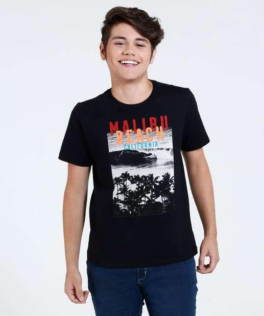 Image_Camiseta Infantil Estampa Praia Marisa