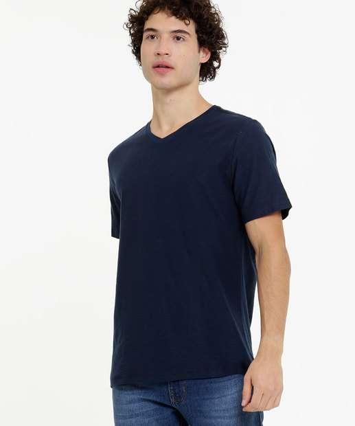 Image_Camiseta Masculina Básica Manga Curta Rovitex