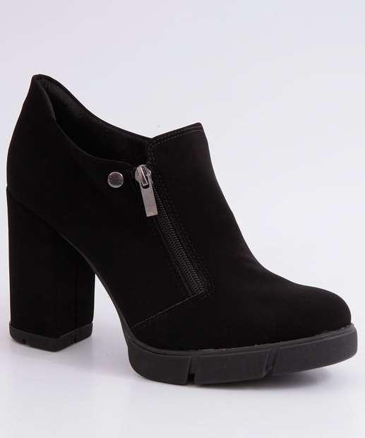 Image_Bota Feminina Ankle Boot Salto Grosso Quiz