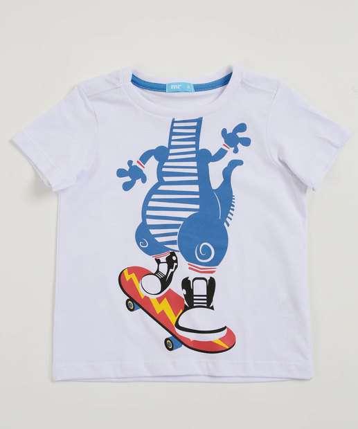 Image_Camiseta Infantil Estampa Dinossauro Manga Curta Marisa